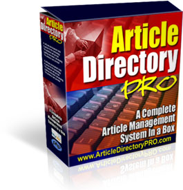 Article Directory Pro
